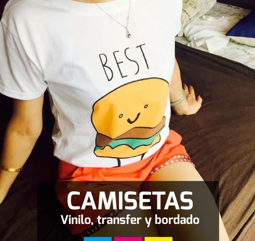 Camisetas personalizadas Barcelona