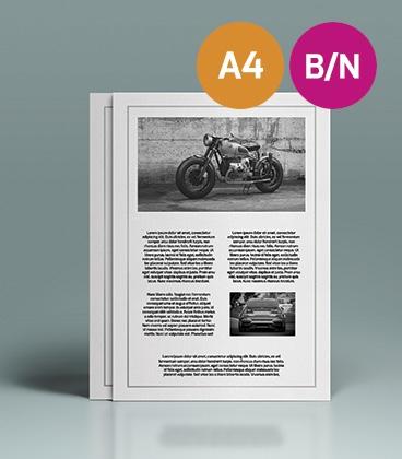Impresión Online B/N A4