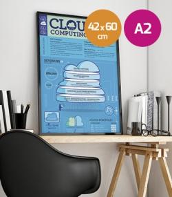Poster cartulina premium A2 - 42x60cm