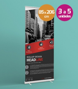 Roll Up 85x206 3-5 unidades