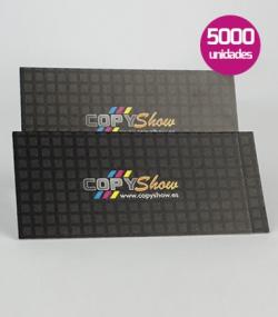 Tarjetas impresión offset 10000 unidades