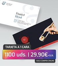 Oferta tarjetas de visita