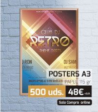 Oferta posters A3